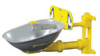 S19224B - Bradley HALO Eyewash, wall mount, Stainless steel -- GO-86001-21 -- View Larger Image