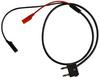 Stacking Double Banana Plug Test Cable RG58C/U to Alligator and Miniature Alligator -- 1059M -Image