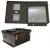 18x16x8 Inch 120VAC Vented Black Weatherproof Enclosure -- NBB181608-10V -Image