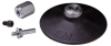 3M 05541 Medium Black Roloc Disc Pad Assembly - 4 in DIA - Internal Thread Attachment -- 051131-05541 -- View Larger Image