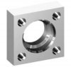 Square Flanges - Socket Weld Flanges -- JIS-SS* Flange for JIS Pipe & JIS O-ring