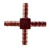 Brass Multi-Barbs Cross Hose -- BBX-5