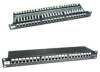 24 Port Cat6 Shielded Patch Panel -- 102241