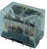SZR-LY General Purpose Relay: Standard Relay; PCB Terminal; 4PDT; 110/120 Vac -- SZR-LY4-1P-AC110-120V - Image
