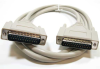 100ft DB25 M/M Straight Thru Molded Cable -- 10D3-011HD - Image