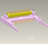 Input-Output Connectors, CardBus - PCMCIA, PCMCIA CardBus Header Assemblies, Series Number=71257 -- 71257-0000LF