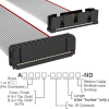 Rectangular Cable Assemblies -- A3AKB-2636G-ND -Image
