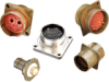 Filter 38999 Jam Nut Receptacle -- D38999/24 Jam Nut Series III - Image