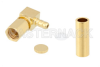 SSMC Plug Right Angle Connector Crimp/Solder Attachment for RG178, RG196 -- PE45496 -Image