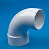 White PVC 1/4 Bend Street Ell -- 31009