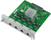 4-port Gigabit Base Ethernet Card -- UNOP-1514RE
