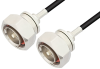 7/16 DIN Male to 7/16 DIN Male Cable 48 Inch Length Using RG223 Coax, RoHS -- PE3192LF-48 -Image
