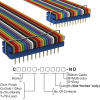 Rectangular Cable Assemblies -- C0RRG-2418M-ND -Image