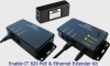 Unpowered Ethernet and PoE Extender Kit -- Enable-IT 820
