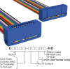 Rectangular Cable Assemblies -- C3AES-2036M-ND -Image