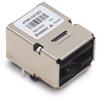 250MBd 650nm POF Transceiver with Compact Versatile Link Connector (Black) -- AFBR-5972EZ
