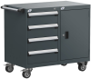 Mobile Compact Cabinet with Partitions -- L3BEG-2823L3 -Image
