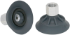 Flat Suction Cup (Round) for Highly Dynamic Handling of Wood SHFN 50 NK-45 G1/4-IG MOS -- 10.01.01.11696