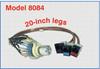 Single Channel RJ45 Cat5e A/B Rotary Switch -- Model 8084 -Image
