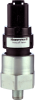 MH Series Medium Pressure Switch, rising set point (factory set), 15 bar sealed gage, 1/8-27 NPT port, SPST-N0 output with gold-plated contacts, cold-rolled steel base, LTNB diaphragm, and Deutsch DT0 -- MHR01500BBPNMABA -Image