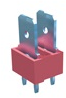 2 Tabs Low Profile Quick Fit Header -- 7817 - Image