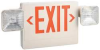 Exit Sign,Incand,1 or 2 Side,Red Letters -- 6CGL7