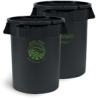 32-Gal Dynamo Trash Can -- 9808