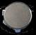 FERRITE ISOLATORS & CIRCULATORS DROP-IN DISC UNITS -- C550D-CD-CW