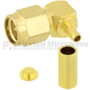 RA SMA Male Connector Crimp/Solder Attachment for RG316DS, RG188-DS Cable -- SC6065 -Image