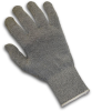 PIP Kut-Gard 22-761GRH Gray Medium Dyneema/Polyester/Stainless Steel Cut-Resistant Gloves - EN 388 5 Cut Resistance - Silagrip Single Side Coating - 616314-37566 -- 616314-37566