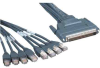 6ft HD68 Male to 8 LEGS RJ45 Cable (Cisco(r) CAB-OCTAL-ASYNC) -- 10CO-08106 - Image