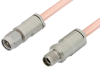 3.5mm Male to 3.5mm Female Cable 60 Inch Length Using RG402 Coax -- PE34578-60 -Image