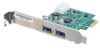 Cables To Go 2-Port USB 3.0 SuperSpeed PCI-E Card -- 29055