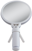 Dual Magnification Lighted Hand Mirror -- FH10L