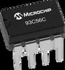 2Kbit Microwave Serial EEPROM Memory Chip -- 93C56C -Image