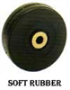 SR Series Soft Rubber Wheels -- sr-200 - Image