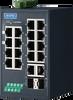 16 + 2G Combo Ports Entry-Level Managed Switch Supporting PROFINET -- EKI-5626CI-PN -Image