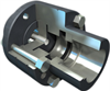 Rigid Coupling with Radially Located Parts for Vertical Applications -- C Series