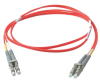 Cables To Go 16-Foot Multimode LC/LC Duplex Patch Cable with -- 33175