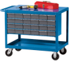 HERCULES Premium Shop Carts with Bins -- 5296100 - Image