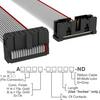 Rectangular Cable Assemblies -- A3DKB-1606G-ND -Image