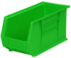 Akro-Mils Akrobin 60 lb Green Industrial Grade Polymer Hanging / Stacking Storage Bin - 18 in Length - 8 1/4 in Width - 9 in Height - 1 Compartments - 30265 GREEN -- 30265 GREEN