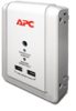 APC Essential SurgeArrest 4 Outlet Wall Mount with USB, 120V -- P4WUSB