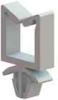 Wire Saddle - Non Locking, Snap In, Square Hole Mount -- WS-SH-3-01 -- View Larger Image