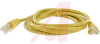 Cord, Patch; 5 ft.; Cat 5e; Booted; Yellow -- 70121783