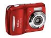 Kodak EasyShare Red C1505 12mp Digital camera - 2.4in LCD - Fixed Lens (35mm) - 5x Digital Zoom -- 8668725