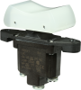 TP Series Rocker Switch, 1 pole, 3 position, Screw terminal, Above Panel Mounting -- 1TP216-1 -Image