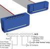 Rectangular Cable Assemblies -- C3AEG-2036G-ND -Image