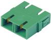 Fiber Connectors and Adapters : Adapters : Loose Piece -- FADSCZAG-L