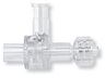 Dual Check Valve, Female Luer Lock Control Port, Male Luer Lock Outlet and Tubing Port -- 80098